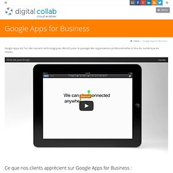 Google Apps for Business Digital Collab