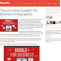 Tips on Using Google+ for Business [Infographic]