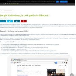 Google My Business, le petit guide du débutant ! - JVWEB