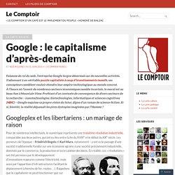 Google : le capitalisme d'après-demain