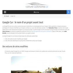 Google Car - La voiture autonome de chez Google