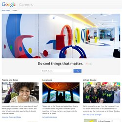 Let's work together. - Ireland jobs - Google