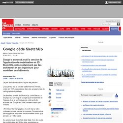 Google cède SketchUp