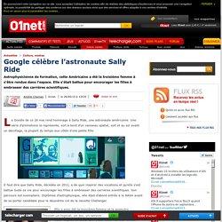 Google célèbre l'astronaute Sally Ride