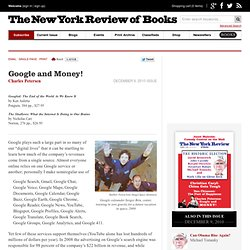Google and Money! by Charles Petersen