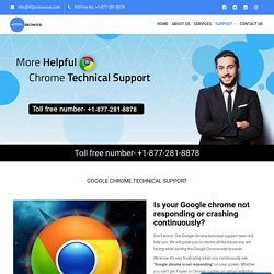 How to solve the issue of Google chrome not responding