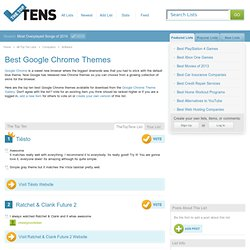 Best Google Chrome Themes