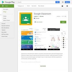 Google Classroom - Apps on Google Play