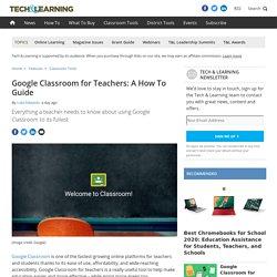 Google Classroom for teachers