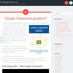 Google Classroom goodies!!