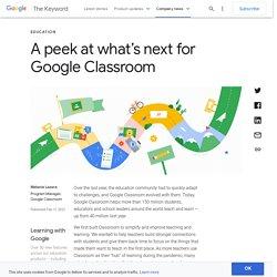 Google Classroom Roadmap