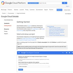 Google Cloud Datalab