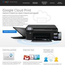 Google – Cloud Print
