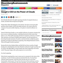 Google's CEO on the Power of Clouds