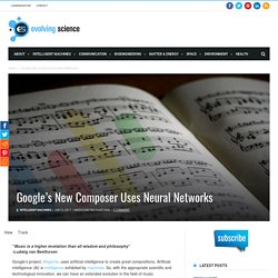 Google's New Composer Uses Neural Networks
