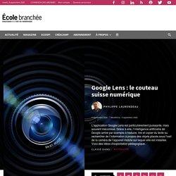 Google Lens : le couteau suisse numérique