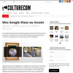 Mes Google Glass au musée