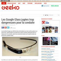 Les Google Glass jugées trop dangereuses pour la conduite