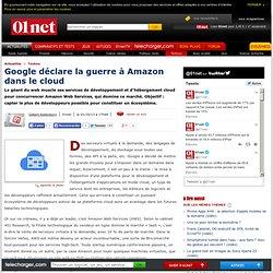Google déclare la guerre à Amazon dans le cloud