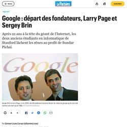 Google : départ des fondateurs, Larry Page et Sergey Brin