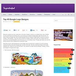 Top 45 Google Logo Designs
