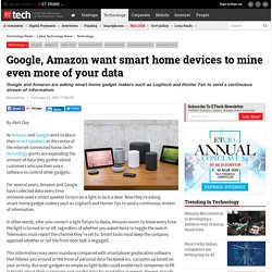 google: Google, Amazon want smart home devices to mine even more of your data, Technology News, ETtech