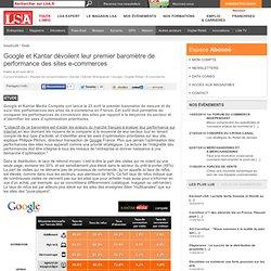 Google et Kantar dévoilent leur premier