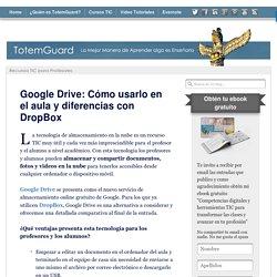 Google Drive: Cómo usarlo en el aula y diferencias con DropBox
