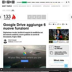 Google Drive aggiunge 6 nuove funzioni