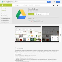 Google Drive - App Android su Google Play