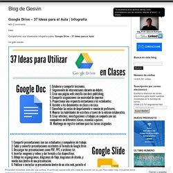 Google Drive – 37 Ideas para el Aula
