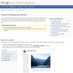 Earth Actions publiques