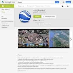 Google Earth – Aplikacje Android w Google Play