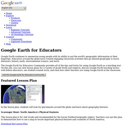 Earth: Google Earth for Educators