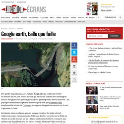 Google earth, faille que faille