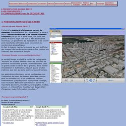 Google Earth en Hist Géo : Présentation