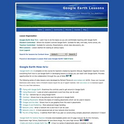 Google Earth Lessons
