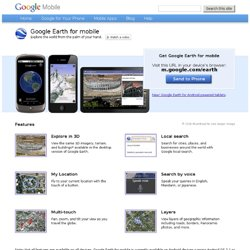 Earth for mobile