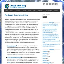 The Google Earth Network Link