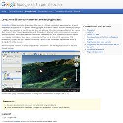 Google Earth per il sociale