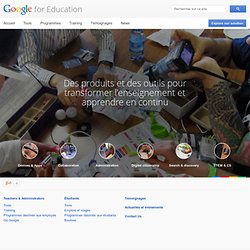 Educator Resources – Google in Education