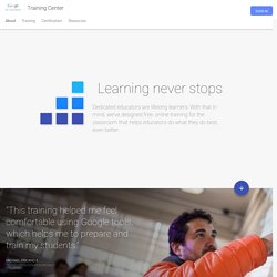 Google for Education: Training Center