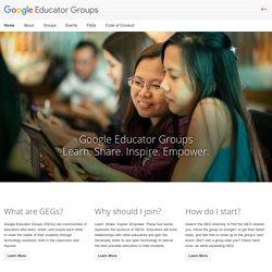 Google Educator Groups