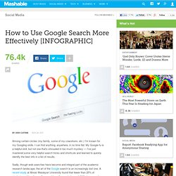 How to Use Google Search More Effectively [INFOGRAPHIC]