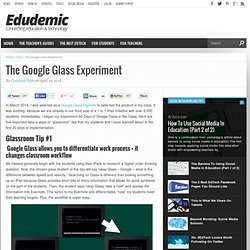 The Google Glass Experiment