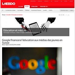 Google financera l'éducation aux médias des jeunes en Suisse