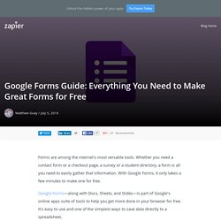 Google Forms Guide: Everything You Need to Make Great Forms for Free