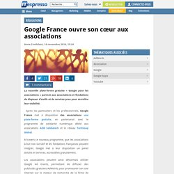 Google France ouvre son cœur aux associations
