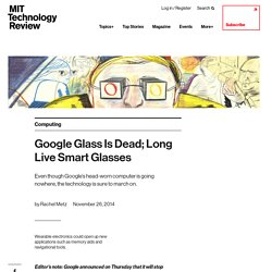 Google Glass Is Dead; Long Live Smart Glasses