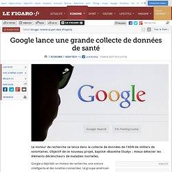 Google lance une grande collecte de données de santé